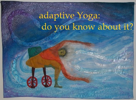 Do you know someone who can use Adaptive Yoga?