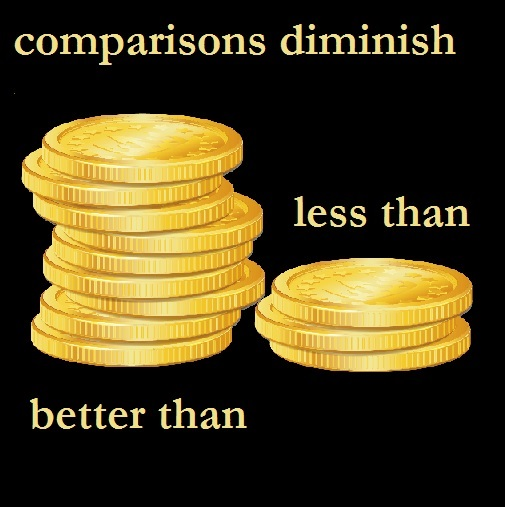 Yoga Comparison:  drop the coin