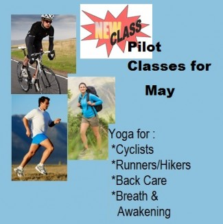 May Pilot Classes for Cross Training