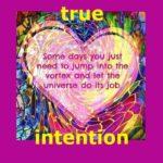 yoga intention: vitality