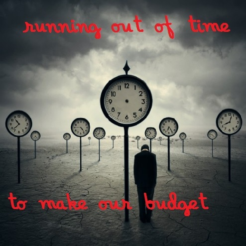 Missing our budget, we are short 10%