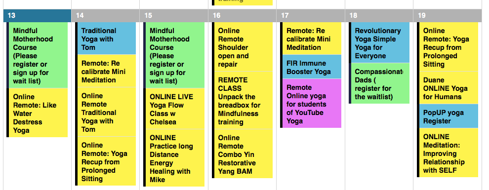 How To Participate in a Live Online Class